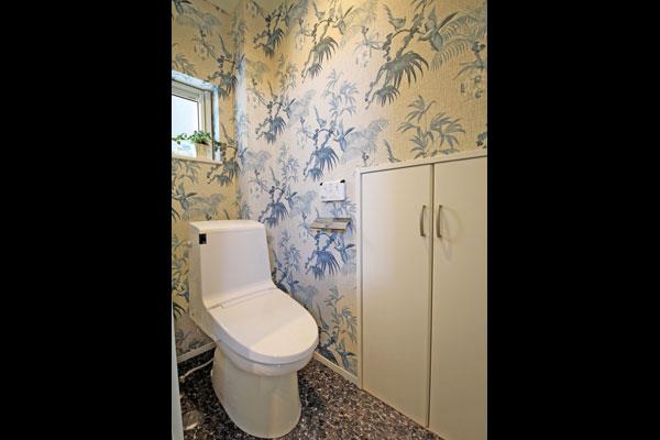 パントリーのあるオウチ 1階トイレ