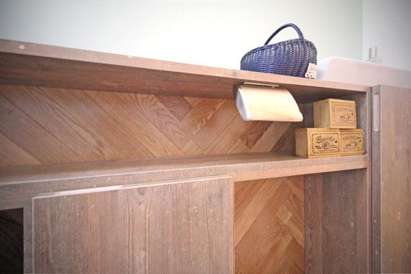 ヘリンボーン家具