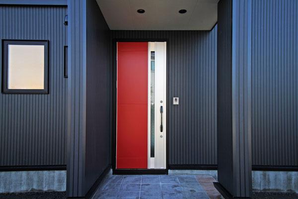 F邸 玄関ドア